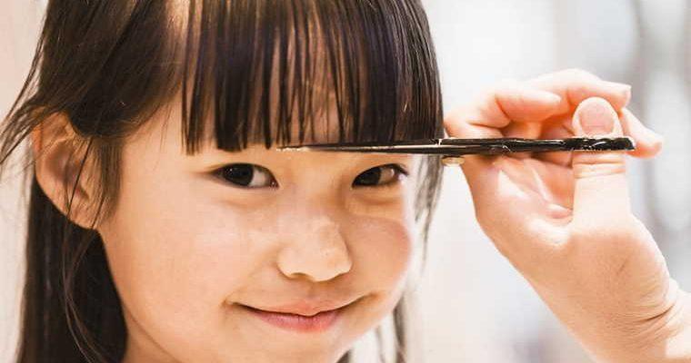 cut a baby's hair
